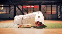 Minimize Waste with Glad Trash Bag Tents