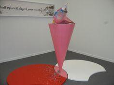 Pink Art from the Frieze Art Fair 2013