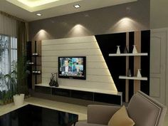 The best catalogue for modern TV cabinet designs and TV wall units design ideas for living room interior walls, with expert tips on how to choose these tv wall cabinets in your modern home of 2019 - 2020 Wall Unit Designs, Living Room Tv Unit Designs, Tv Cabinet Design, Tv Wall Design, Design Room, Tv Unit Decor, Tv Wall Decor, Armoires Murales Tv, Tv Wanddekor