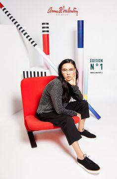 Anne et Valentin Eyewear - Model ARKITEKT 2