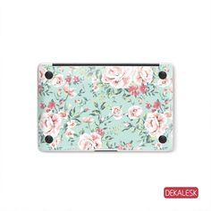 Pink Flowers - MacBook Bottom Skin
