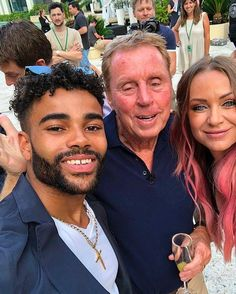 Harry and Sandra Redknapp's secret row with daughter-in-law Louise ahead of her split with son Jamie Harry Redknapp, Daughter In Law, The Vamps, Man Photo, The Row, Beautiful Men, Tv Shows, Celebrity, Celebs