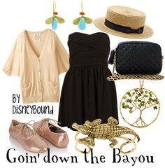 Princess & the Frog outfit! Going Down the Bayou!