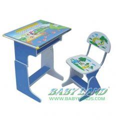 Birou copii cu scaunel reglabile HC58 Babyland
