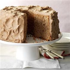 Chocolate Angel Cake Recipe