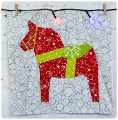 Looking for your next project? You're going to love Dala Horse by designer Sewing Under Rainbow. - via @Craftsy