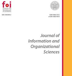 Journal of Information and Organizational Sciences, Croatia