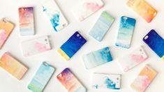 [受注制作]iPhone/Galaxy/Xperia Case「青い、空」 iPhoneケース・カバー picnic ハンドメイド通販・販売のCreema