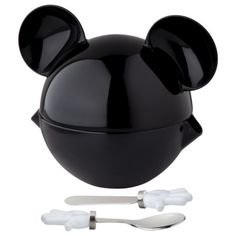 ZAK Mickey Figural Condiment Set