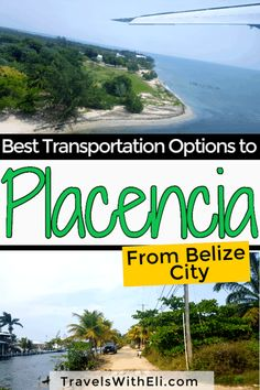 Best Transportation Options from Belize City to Placencia. How do you get to Placencia Belize from Belize City? Should you rent a car, book a shuttle, or fly? These tips will help you find the best transportation option. Belize Honeymoon, Belize Vacations, Belize Resorts, Belize Travel, Beach Vacations, Dream Vacations, Family Vacation Destinations, Italy Vacation, Honeymoon Destinations