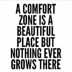 Uncomfortable situations = growth