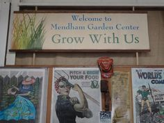 Victory Garden Posters At Mendham Garden Center In Chester. (Photo: SUSAN  BLOOM/