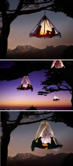 Tree Camping At Waldseilgarten resort in Germany