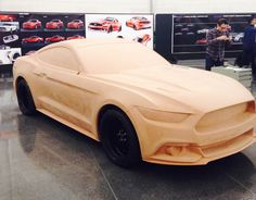 Behind the Scenes of Ford's 2015 Mustang Design Process - 2015+ S550 Mustang Forum (6th Generation Platform) - Mustang6G.com