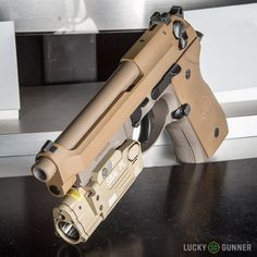 A look at Beretta's new M9A3 pistol.  Beautiful!
