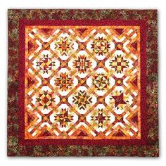 Mulberry Stars Batik Block of the Month or All at Once Kits by Wing and a Prayer
