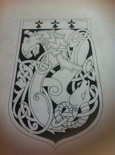 Celtic Lion and Ram Emblem by Tattoo-Design on DeviantArt
