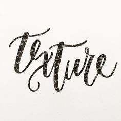 Adding Texture to Hand Lettering Using Adobe Photoshop Apps / Tutorial / Emerald Lettering Blog