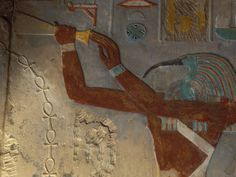 God Thoth Purifying Hetsheput at the Karnak Temple, Egypt Photographic Print by Claudia Adams at AllPosters.com