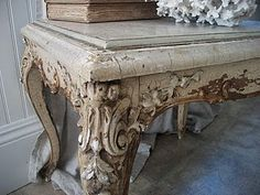 Distressed French beauty ....