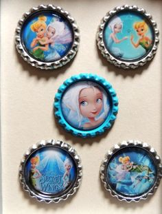 5 Tinker Bell Secret of The Wings Inspired by AllSparklesBowtique, $3.75