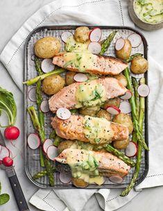 Fish n veggies Food Porn, Cooking Recipes, Healthy Recipes, Delicious Recipes, Fish Recipes, Recipies, Food Hacks, Food Inspiration, Italian Recipes