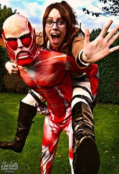 Incredible Attack on Titan Cosplay