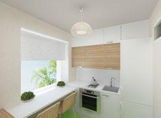 Интерьер маленькой кухни в хрущёвке. Фото