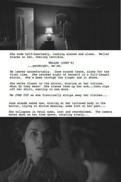 Jane Doe / Taylor Shaw and Kurt Weller tumblr #blindspot #jeller