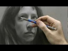 Time-lapse Portrait Drawing Demonstration by David Jamieson #1 - YouTube