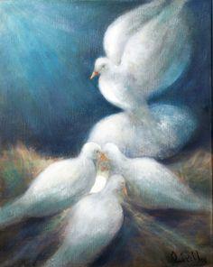 Fredsduvorna.. När en fredsduva föds, jublar alla´ fåglar..