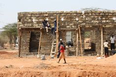 Living on the edge & having a rest  #workplace #safety #kenya
