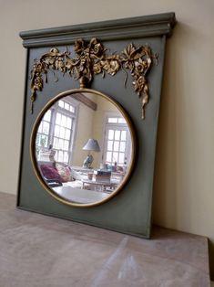 Trumeau Mirror, Diy Mirror, Hall Mirrors, Walnut Timber, Mirrored Nightstand, Ikea Living Room, Custom Mirrors, Elephant Art, Entry Hall