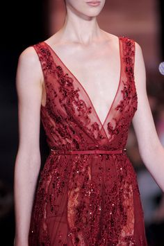 Elie Saab at Couture Fall 2013