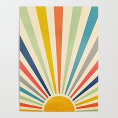 Easy Canvas Art, Simple Canvas Paintings, Small Canvas Art, Easy Canvas Painting, Mini Canvas Art, Diy Canvas, Art Paintings, Pintura Hippie, Sun Painting
