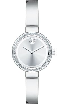 587bb23f0 Movado Bold - Small Movado BOLD Diamond watch, 25 mm stainless steel case  with 50