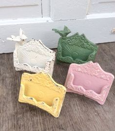 Business card holder wedding place card holder rustic cast iron items similar to business card holder wedding place card holder rustic cast iron distressed new office cottage office buttercup yellow metal decor winter colourmoves