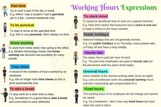 Useful Words and Phrases to Use at Work in English - ESLBuzz Learning English Learn English For Free, Improve Your English, Grammar Check, English Language Learning, Part Time Jobs, English Class, English Words, English Vocabulary, Going To Work