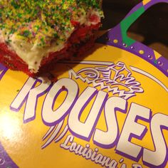 Rouses Red Velvet King Cake Can You Say