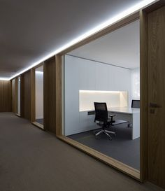Timber and Glass Office