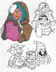Overwatch Ana Grandma