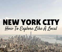 With so many great Things To Do in New York, it can be hard to know where to start! Written by a native New Yoker, let this guide help you plan your trip!