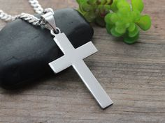 Hey, I found this really awesome Etsy listing at https://www.etsy.com/listing/205628819/large-sterling-silver-cross-for-men-men