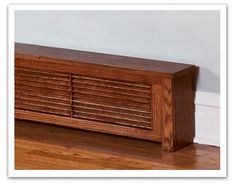 wood baseboard heater covers - Google Search
