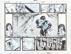 The Entire Meghan Hetrick Art From Nightwing #30 –  Before It Was Binned