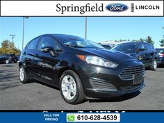 2014 Ford Fiesta SE 35k miles $10,777 35118 miles 610-628-4539 Transmission: Automatic  #Ford #Fiesta #used #cars #SpringfieldFord #Springfield #PA #tapcars