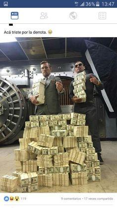 Conor mcgregor money bank, earn money, my money, how to get money,