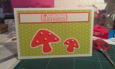 "Geburtstagskarte ""Pilz"""