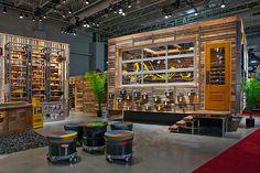 Keen tradeshow booth design