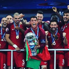 Portugal beat hosts France last night to win their first ever @UEFAEuro trophy! ⚽️ #Eurosport #Football #Soccer #Futbol #Euro #Euros #UEFAEuro #UEFA #France #Portugal #Portuguese #Europe #French #LesBleus #EuropeanChampionship #EuropeanChampionships #Paris #Fans #SaintDenis #Griezmann #Pogba #Giroud #Payet #Ronaldo #CR7 #StadeDeFrance #Final #Winners #Champions #Eder
